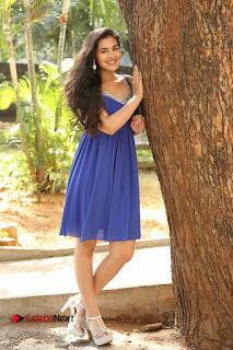 Actress Prasanna Stills in Blue Short Dress at Inkenti Nuvve Cheppu Movie Platinum Disc Function  0200.JPG