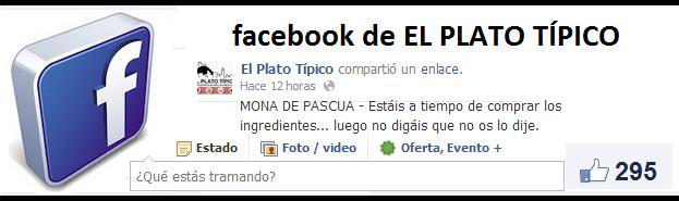 Facebook el plato tipico
