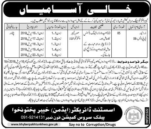 KPPSC Latest Jobs for Drivers