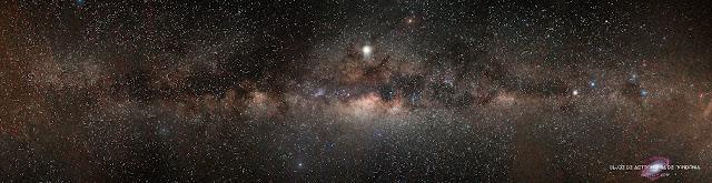 Via Láctea por Jean Carlos de Rondônia