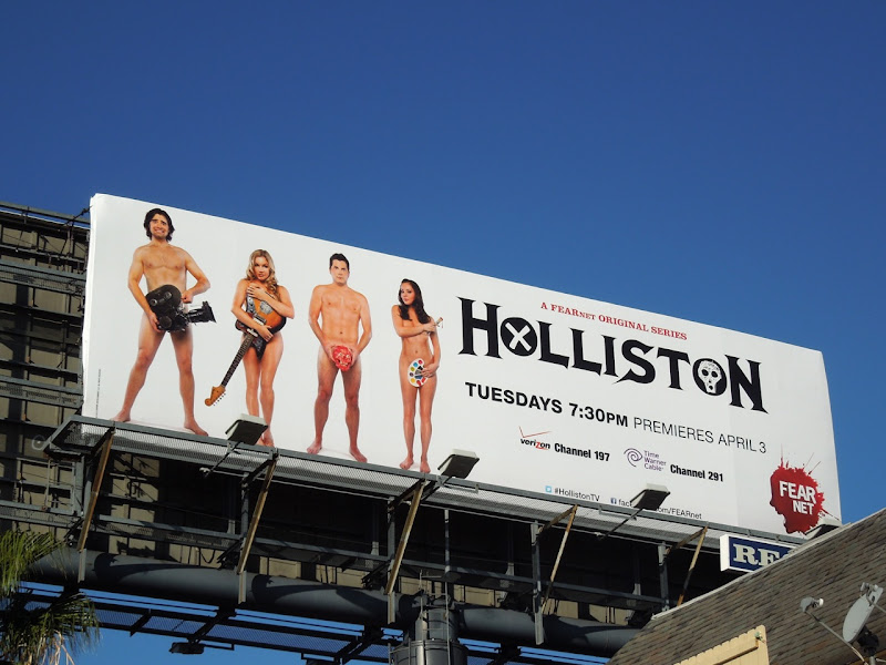Holliston FearNet billboard