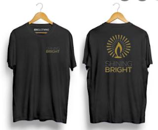Keunggulan dari T-shirt Distro Shining Bright
