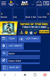 Betking new mobile site