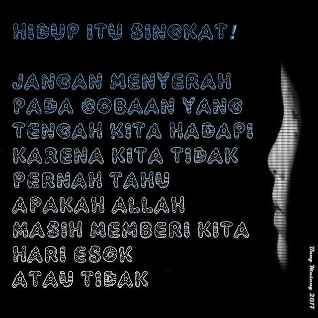 kata mutiara islam hari esok