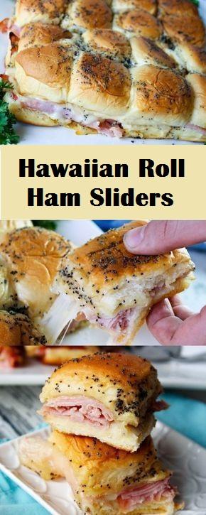 Hawaiian Roll Ham Sliders