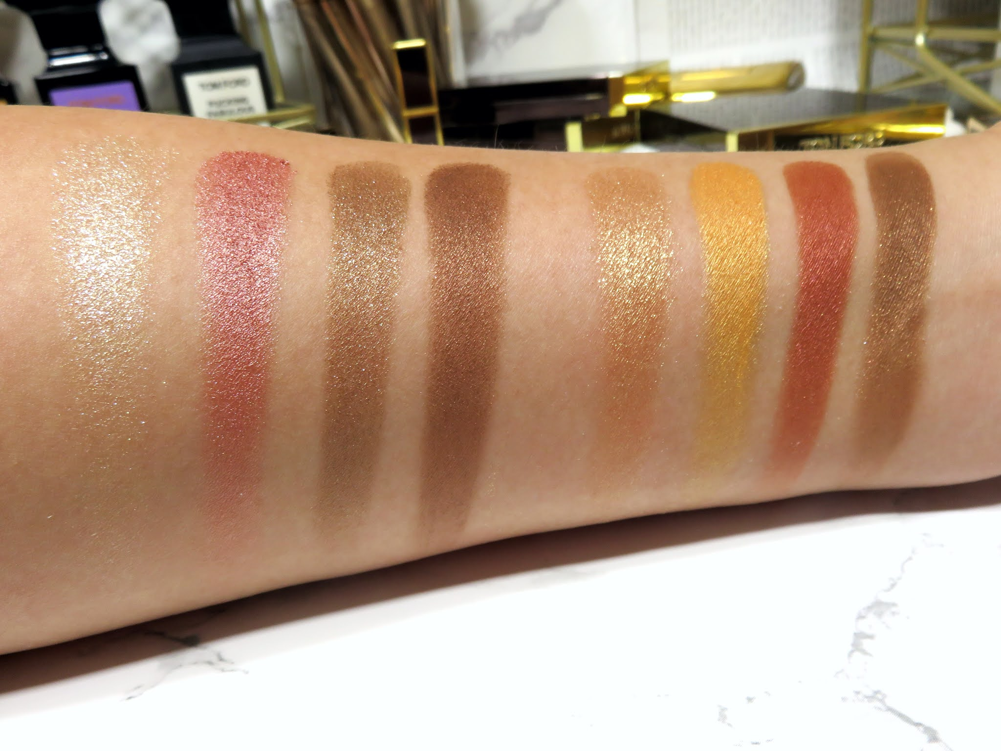 Tom Ford Visionaire Eye Color Quad Review and Swatches