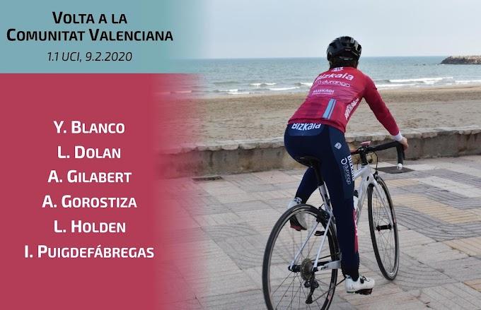 El equipo Bizkaia - Durango inicia su temporada hoy en València