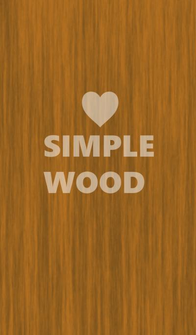 ウッド×シンプルハート