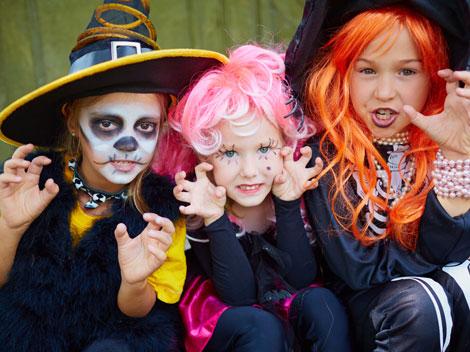 Halloween com crianças em Miami