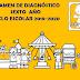 EXAMEN DE DIAGNÓSTICO DE SEXTO GRADO PARA EL CICLO ESCOLAR 2019-2020.