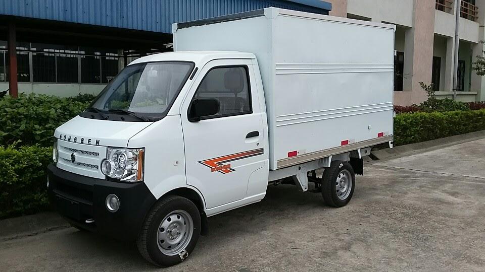 Đại lý bán xe tải dongben 770 thùng kín - dongben thùng kín tải 770kg - xe tải dongben thùng kín