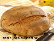 Semolínovo-ražný kváskový chlieb - recept