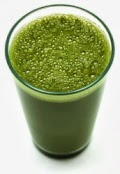 powdered green drink