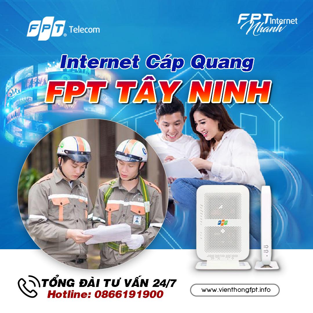 Đăng ký Internet FPT tại Tây Ninh