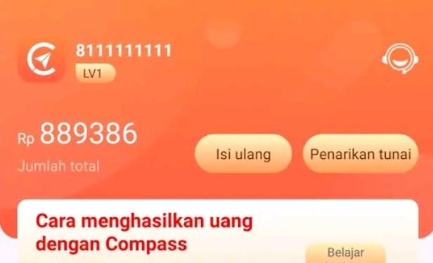 Begini Cara Tarik Uang di Compass, Mudah Banget!