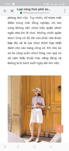 Mẫu website tạp chí thời trang giao diện điện thoại