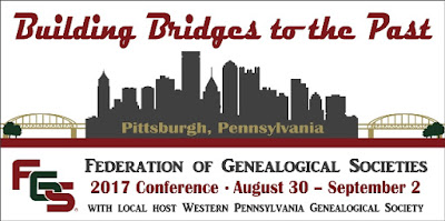 Hotel Reservations Now Open for the FGS 2017 Conference in Pittsburgh