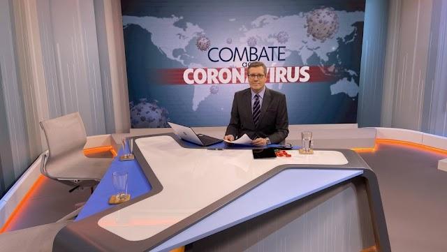 'Combate ao coronavírus' sairá do ar e 'Encontro' terá 2h de duração