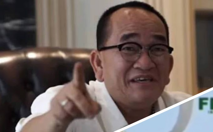 Trending Topik : Jokowi dan Megawati Didoakan  Berumur Pendek, Ruhut Sitompul : Aku Tertawa Mehek - Mehek