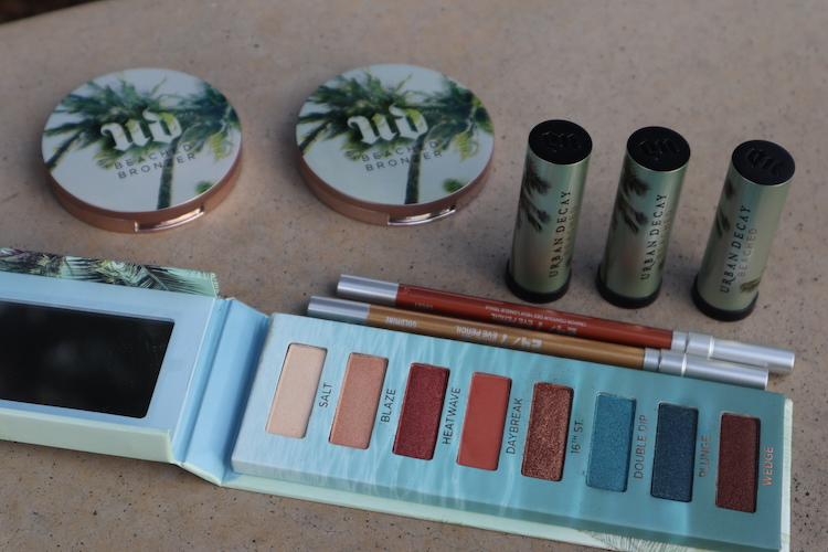 Swatches and Review of Beached Eyeshadow Palette, Vice Lipsticks, and Bronzers