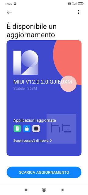 Xiaomi Mi 10 Lite 5G riceve le patch di agosto (MIUI 12.0.2.0)