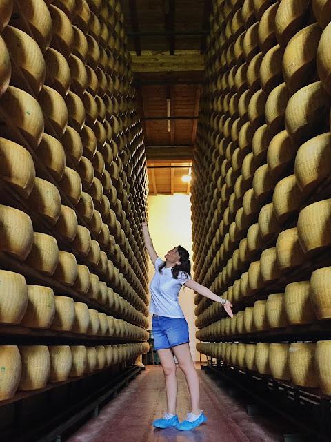 Degustazione Parmigiano Reggiano CiaoLatte
