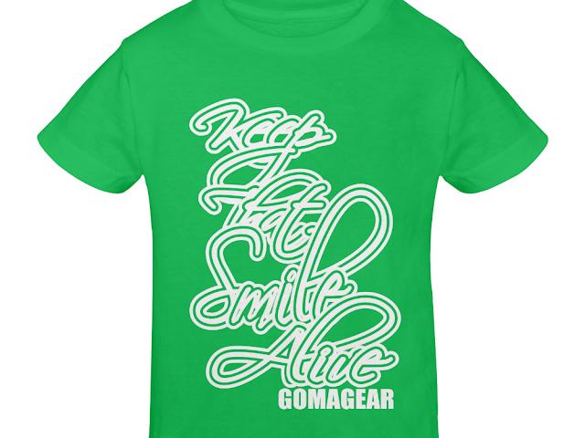 GOMAGEAR KTSA KEEP THAT SMILE ALIVE YOUTH T-SHIRT - G