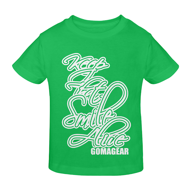 GOMAGEAR KTSA KEEP THAT SMILE ALIVE YOUTH T-SHIRT - G