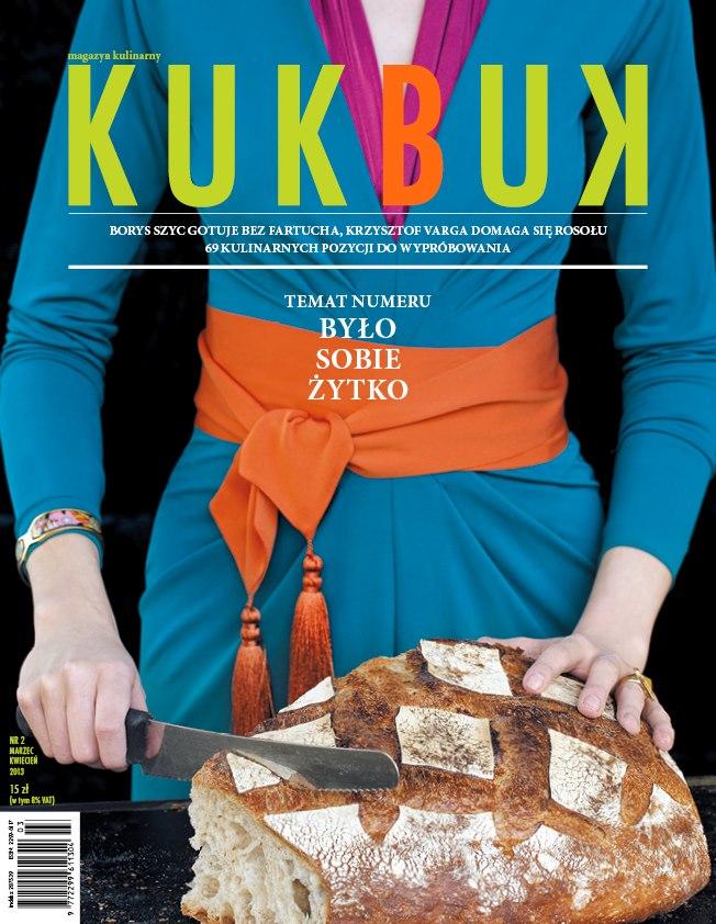 """Kukbuk – magazyn kulinarny"", 2/2013 (marzec-kwiecień)"