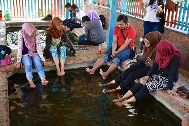 Kolam Terapi Ikan Wisata Agro Selopajang Timur (WAST) Blado Batang
