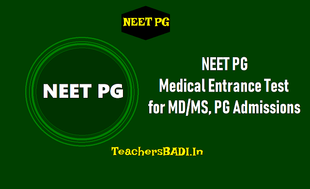neet pg 2019 for md/ms,pg admissions,neet pg medical entrance test,online application form,how to apply,exam fee,admit cards,results,exam pattern