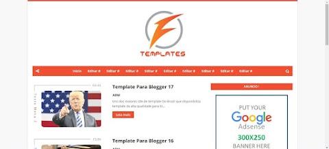 Blogger Template é um tema blogueiro