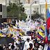 Cristianos marcharon en Maracaibo por la paz de Venezuela