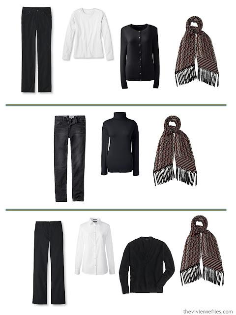 3 ways to wear a Missoni scarf