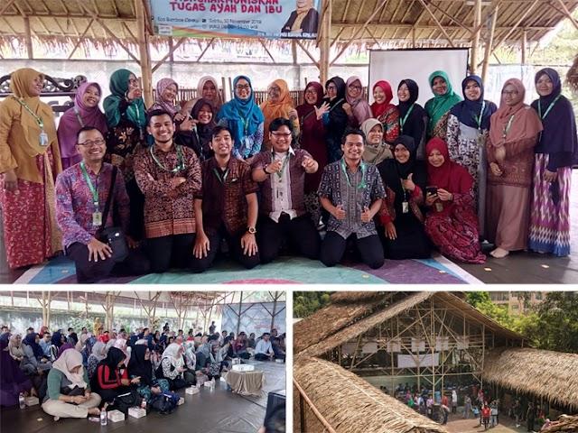 SDIT Ibnu Taimiyah Bandung Gelar Seminar Parenting di ECO Bambu Cipaku