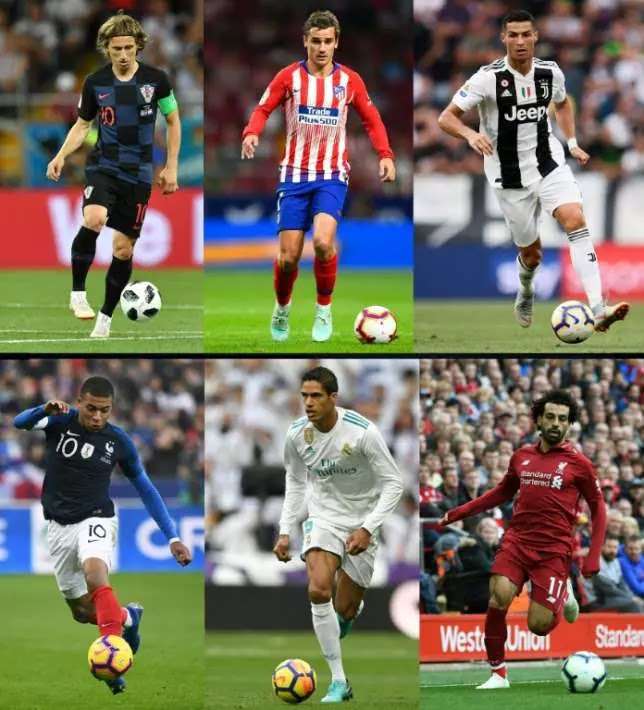 Modric tipped to pip French stars to Ballon d'Or and end