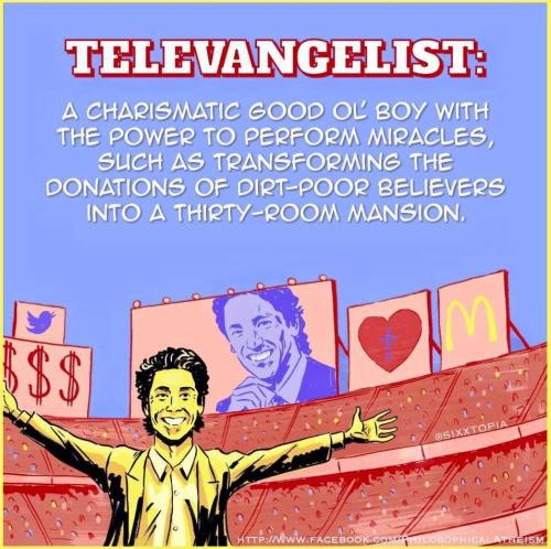 Joel Osteen Televangelist Miracle Religious Meme