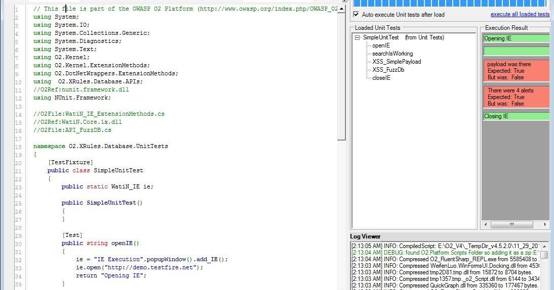 Dinis Cruz Blog: Simple Unit Test to detect XSS using FuzzDB