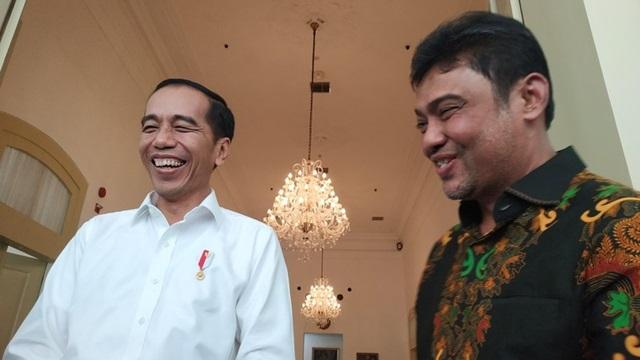Andi Gani dan Said Iqbal Pengin Pak Jokow Pilih Menaker dari Serikat Buruh