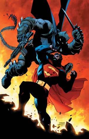 Superman v Batman en cómic