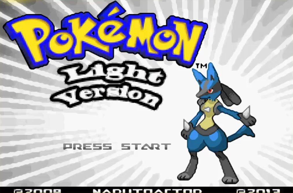 Pokemon Light Version para GBA Imagen Portada