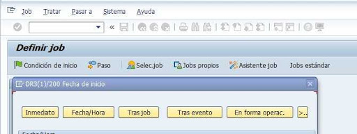 Job proceso de fondo