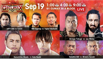 G1 Climax 30: Opening Night
