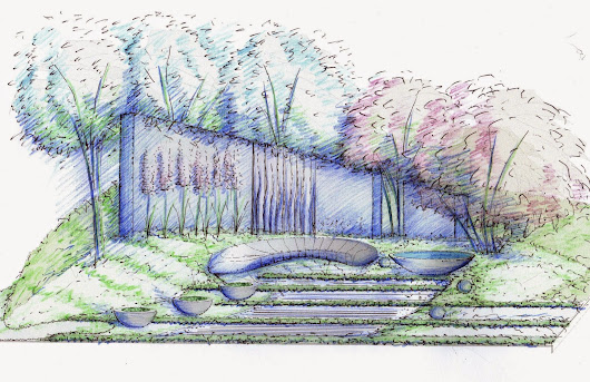 RHS Hampton Court Palace Flower Show 2015 - Living Landscapes H U G by Rae Wilkinson