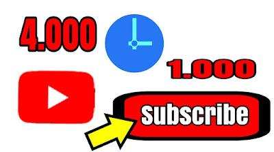 Rahasia Cepat di Terima Review Google Adsense Youtube (4000 Jam dan 1000 Sub)