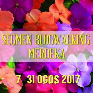 Segmen Blogwalking Merdeka
