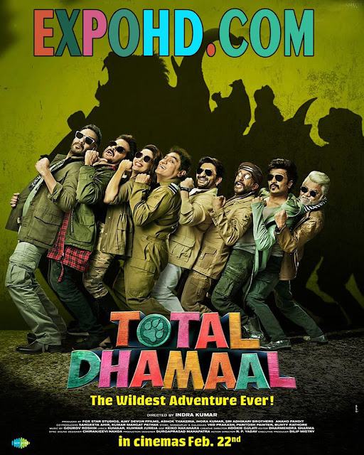 Total Dhamaal 2019 Dual Audio 480p | Bluray 720p | Esub 1.3Gbs [Watch & Download Here]