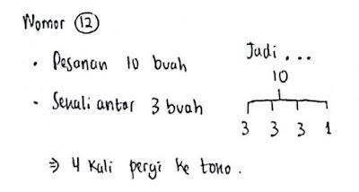 Latihan Soal Psikotes Matematika dan Jawabannya 12