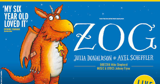 Interview with Julia Donaldson, ahead of Zog arriving at Town Hall Birmingham this Easter