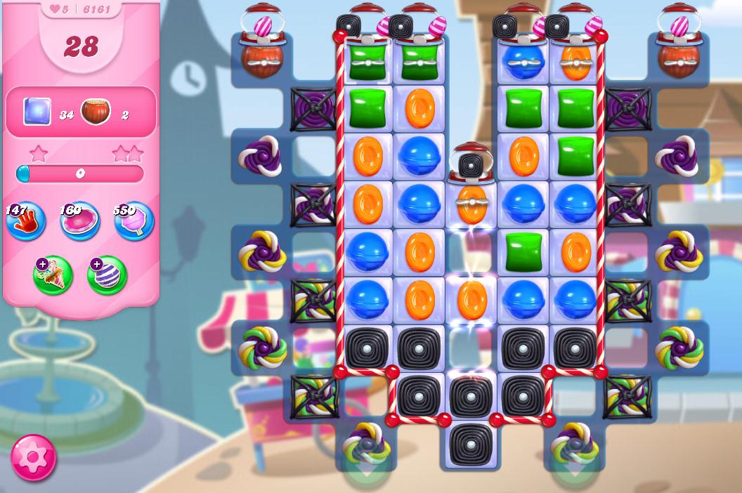 Candy Crush Saga level 6161